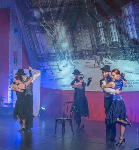 Cwajer Tango - śpiewa Nova Aura, tańczy Cracovia Danza